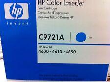 Original HP Toner C9721A 641A cyan für LJ 4600 4650 neu C