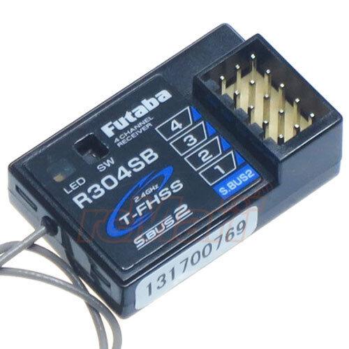 Futaba 4-Channel T-FHSS Telemetry Enabled Receiver 1 10 RC Car On Road  R304SB