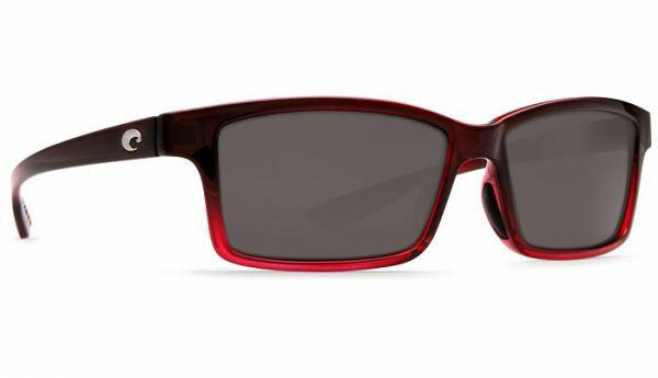 New Costa Del Mar Tern Polarized Sunglasses 580P Pomegranate Fadegrigio Fishing