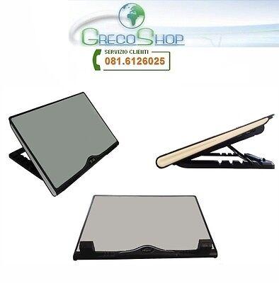 Notebook cool pad/Alza notebook con ventola raffredamento con led - Mod. B