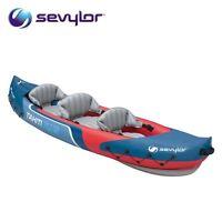 Sevylor Tahiti Plus 3 Man Person Inflatable Kayak Canoe Blow Up Boat 205516