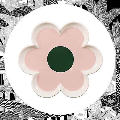 Orla Kiely Pétale Fleur Bijou Plateau-Rose pastel