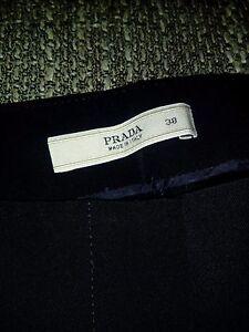 Pants Prada Black Elegant Women's Original qqH1wX