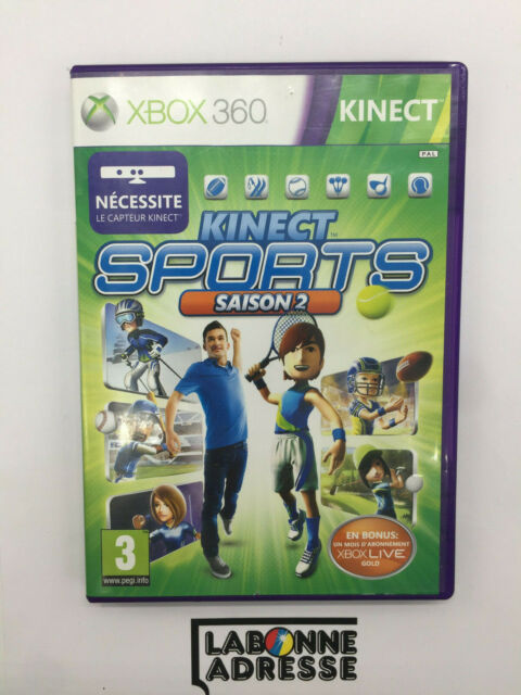 XBOX 360 KINECT JEU VIDEO KINECT SPORTS SAISON 2 - COMPLET