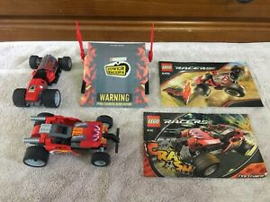 LEGO-Racers-8136-Fire-Crusher-and-8493-Red-Ace