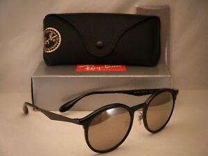 bb1ef20919 Ray Ban 4277 Emma Black w Gold Flash Mirror Lens NEW sunglasses ...