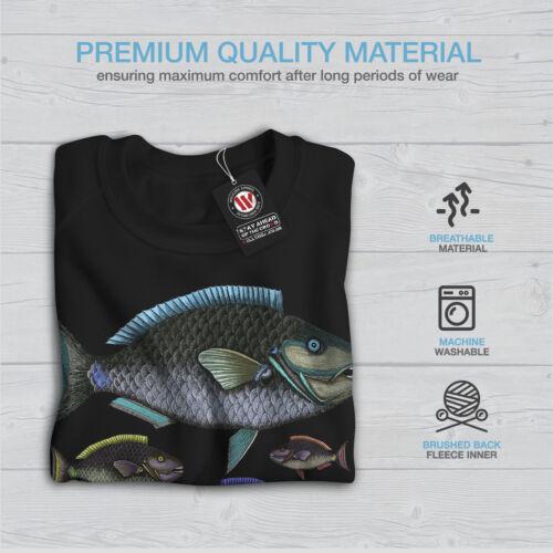 shirt femme noir pour Wellcoda Nature pull l'eau Sweat à décontracté Coloré qwxXtX6p7