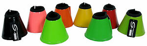 EQUESTRIAN-HORSE-OVER-REACH-SOFT-NEOPRENE-BELL-BOOTS-VARIOUS-SIZES-amp-COLOURS