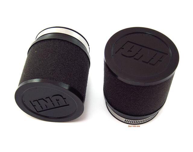 UNI Foam Air Filters Universal Motorcycle Filter Pod Set - 53mm - 55mm - PK-92