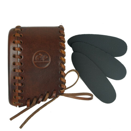 Details about  /Gun Recoil Pad Buttstock Handmade Adjustable Leather Shotgun Protector Rubber