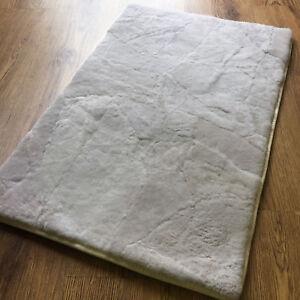 Image Is Loading Natural Sheepskin Pet Rug Soft Fluffy For