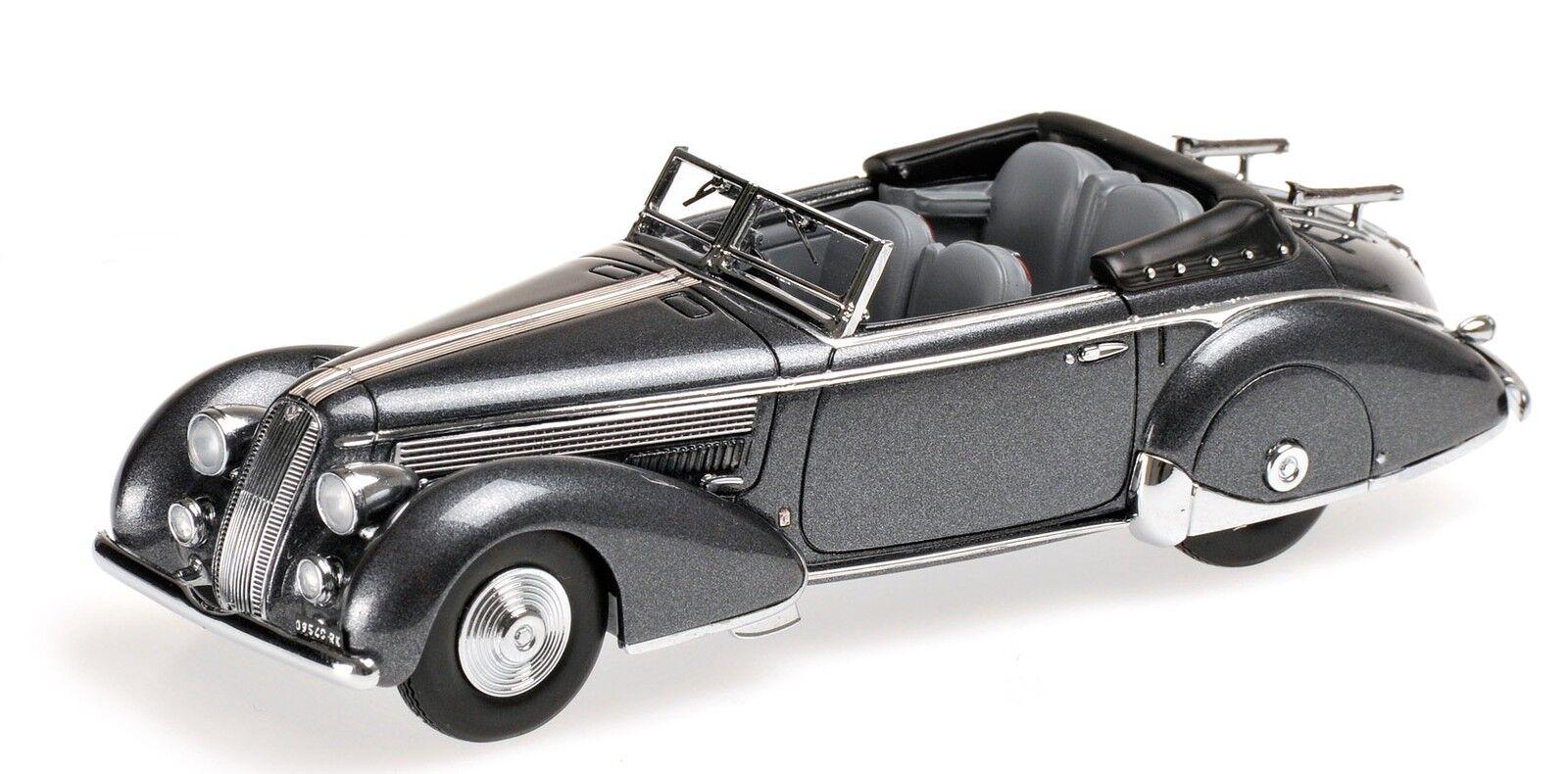 Lancia Astura Tipo 233 Corto 1936 grigio Metallic 1 43 Model MINICHAMPS