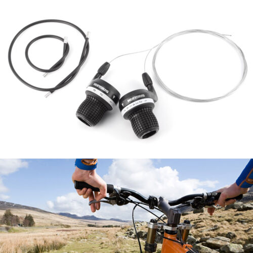 Bicycle Grip Shift Micro Gear Shifters Shimano /& SRAM Compatible Bike Cycle