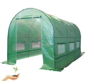Nuevo-Acero-Galvanizado-marco-polytunnel-de-efecto-invernadero-pollytunnel-Poly-tunel-4m-X-2m