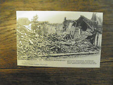 Poperinghe - Oorlog 1914-18 Bombardement / Carte postale ancienne vintage