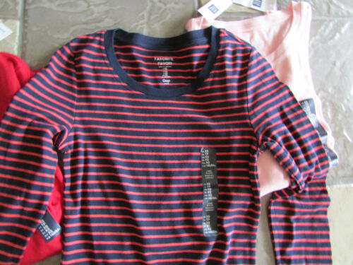 Shirt Cotton Blend Womens New 4 Favorite Xs Free T Gap Lot Sleeved Ship afw6W1zv