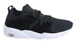Trainers Of Glory Black Textile Blaze Lace Mens Up Tech Soft Puma AUvxqT5n