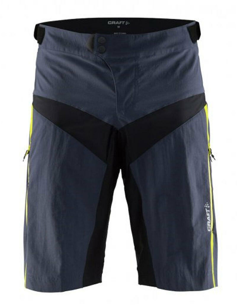 CRAFT CRAFT CRAFT PANTALONCINI FREERIDE X-OVER CON FONDELLO c4cc00