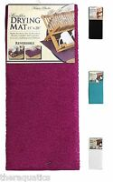 Karen Rhodes Collection Microfiber Drying Mat Highly Absorbent Countertop Dishes