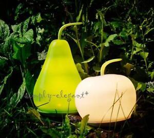 Ikea Solvinden Led Solar Powered Lamp Apple Shape Green White