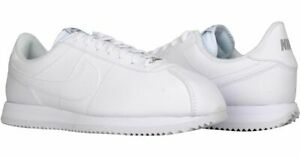 Cortez-Basic-Leather-White-Grey-Silver-Mens-Size-6