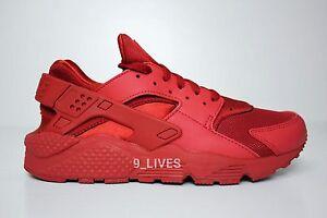 12 Triple Nm 318429 660 Size Air Huarache Nike October Varsity 7 Red 2YWEDIbeH9