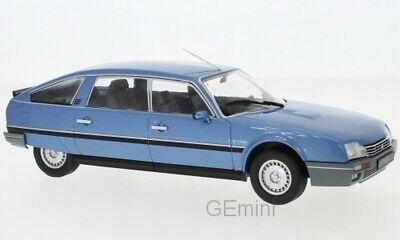 blau Whitebox Citroen CX 2500 Prestige Phase 2 1986-1:24 #124027