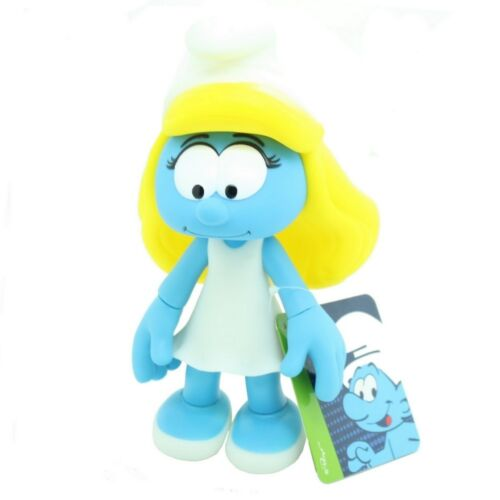 The articulated Smurfette 2017 Collectible Figure Puppy The Smurfs