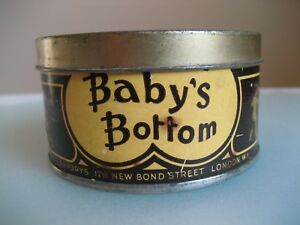 VINTAGE-BABY-039-S-BOTTOM-TOBACCO-TIN