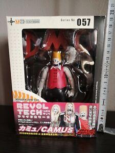 NEW Revoltech Yamaguchi No.57 Detroit Metal City CAMUS Figure KAIYODO F//S