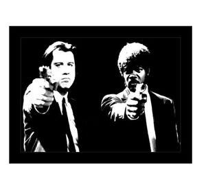 Image Is Loading Pulp Fiction Quentin Tarantino Movie Pop Art 20