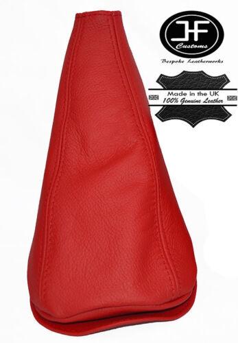 En cuir rouge pour Mini Cooper Classic Morris jusqu/'à 2000 Gear Stick Gaiter