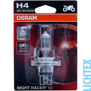 H4 OSRAM Night Racer +50% mehr Licht  - Modernes Design Performance NEU