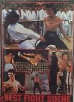 Bruce Lee Poster Rare Must See