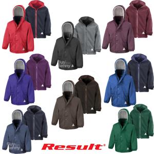 Result Core Kids Micro Fleece Lined Jacket R203J Navy 3-4 Years