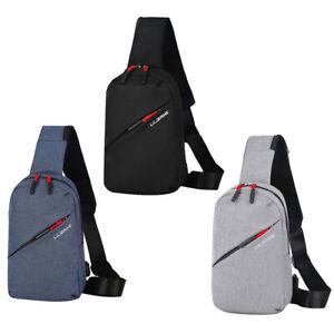 women-Men-Outdoor-Canvas-Chest-Bag-Crossbody-Shoulder-Bag-Pack-summer-bag-J-tx