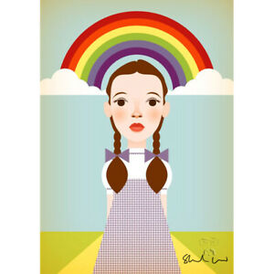 Over the Rainbow by Stanley Chow - Signed and stamped archival Giclee print