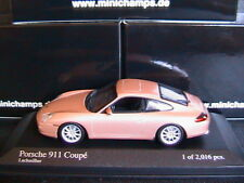 PORSCHE 911 996 CARRERA 4 COUPE 2001 FACELIFT LACHSSILBER MINICHAMPS 400061025