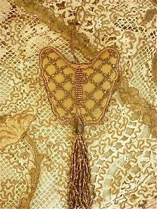 """Coussin De Clef ''papillon"""" Vieil Or Qiyhteae-07224701-438355238"""