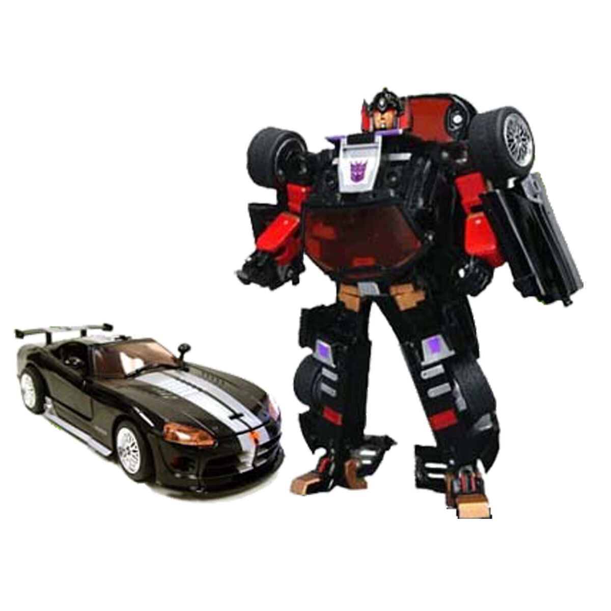 Binaltech BT-05 Dead End Dodge Viper bodywork in metal - Transformers