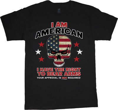 Big men/'s t-shirt 2nd amendment right to bear arms tall tee 4X 5X 6X 7X 10X