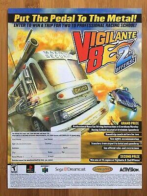 Vigilante 8 2nd Offense Playstation Game For Sale Online Ebay