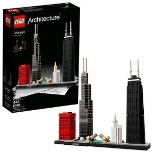 LEGO-Architecture-Super-Rare-Chicago-21033-New-amp-Sealed