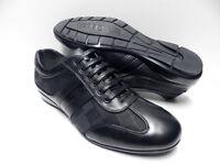 Chaussures De Ville Noir Pour Homme Taille 40 Mariage Soirée Baskets Zy-p396