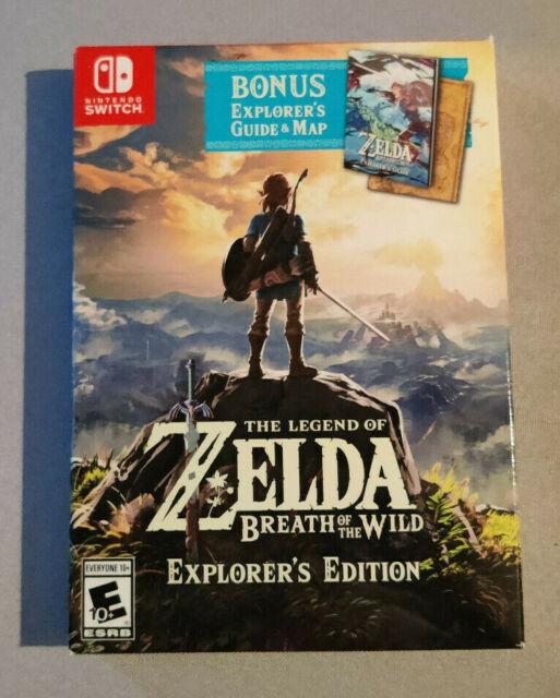 Legend of Zelda: Breath of the Wild Explorer's Edition Nintendo Switch