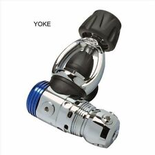 AQUATEC Scuba Diving Regulator Balanced Piston First Stage (YOKE) RG-1100F