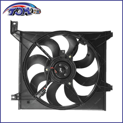 New Radiator Cooling Fan Assembly Driver Side Left LH For Kia Spectra 2.0L 04-09