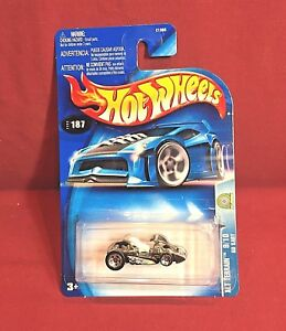 Hot Wheels GO KART Black & Silver - 2003 Alt Terrain #187