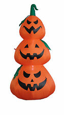 Halloween LED Inflatable Yard Party Air Blown Blowup Decoration Stacked Pumpkins