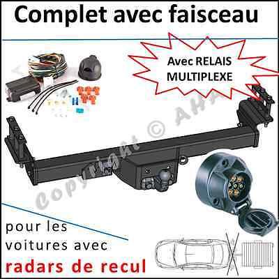 Attelage pour Nissan Patrol GR 04 Faisceau s col de cygne 7 broches NEUF TOP